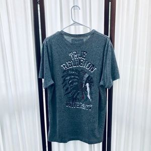 True Religion Indian Chief Graphic Tee